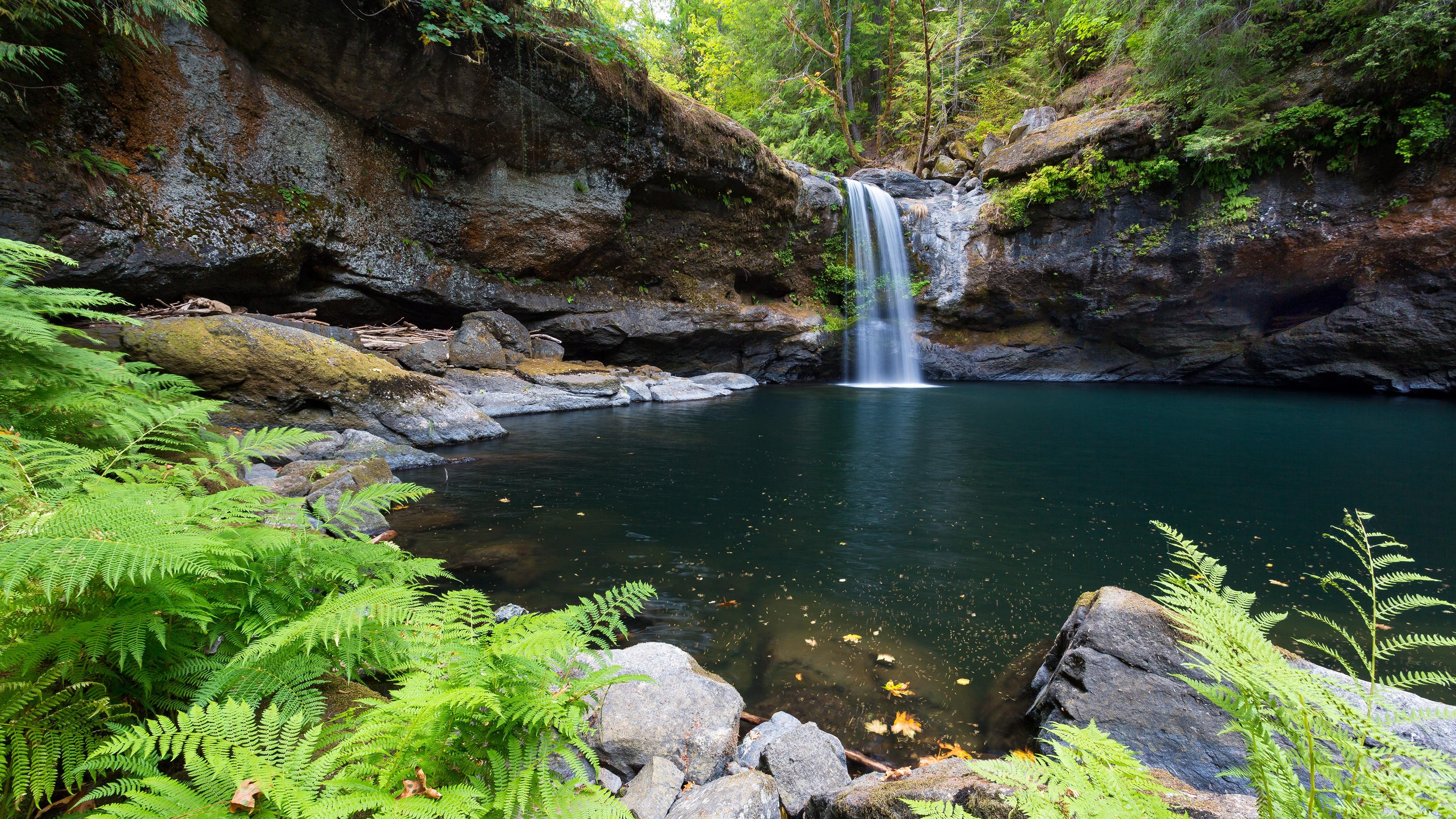 природа озеро водопад  № 768639  скачать