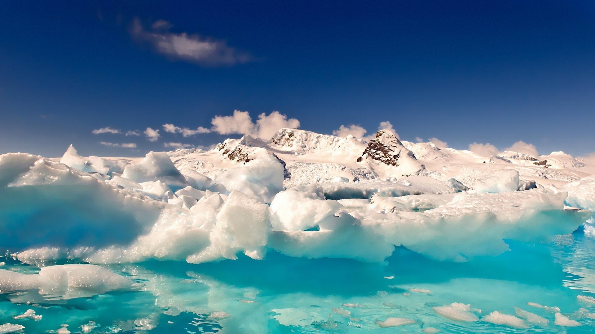 Антарктида глыбы небо онлайн