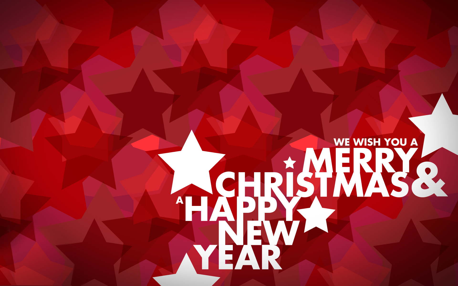 beautiful merry christmas and happy new year background
