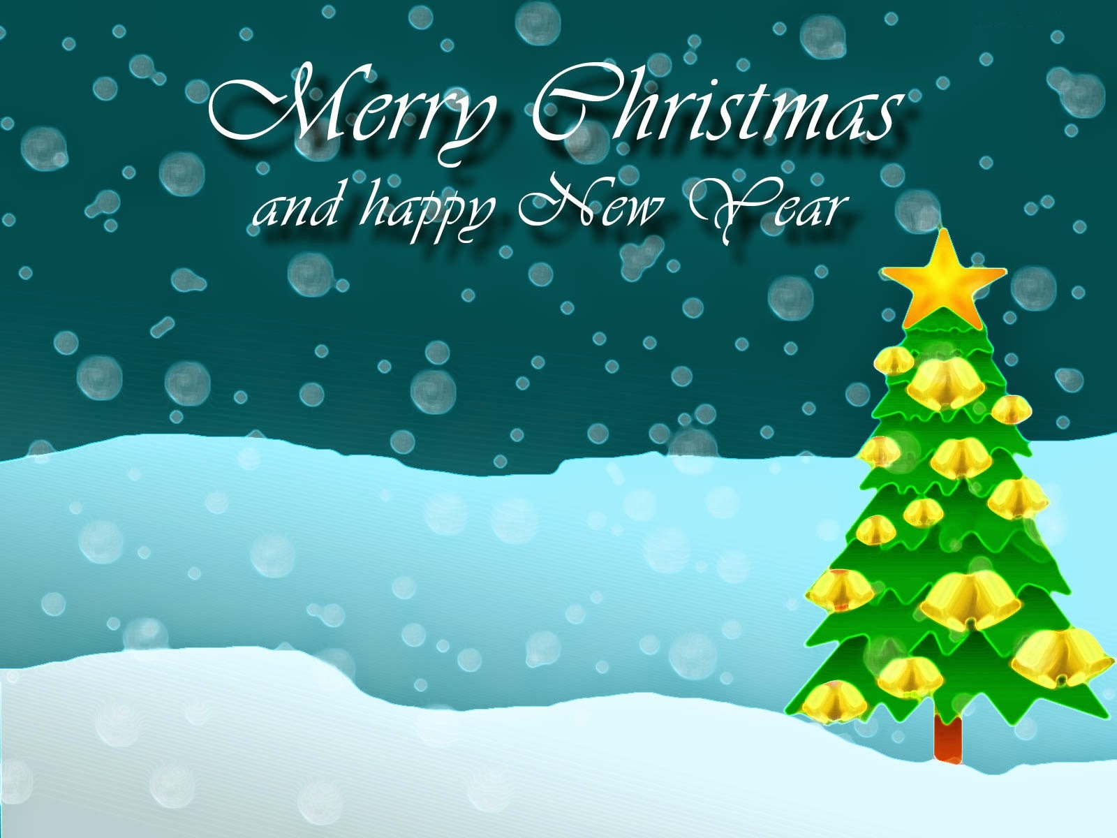free merry christmas and happy new year image