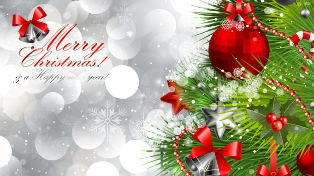 Merry Christmas and Happy New Year Wallpaper Full HD.