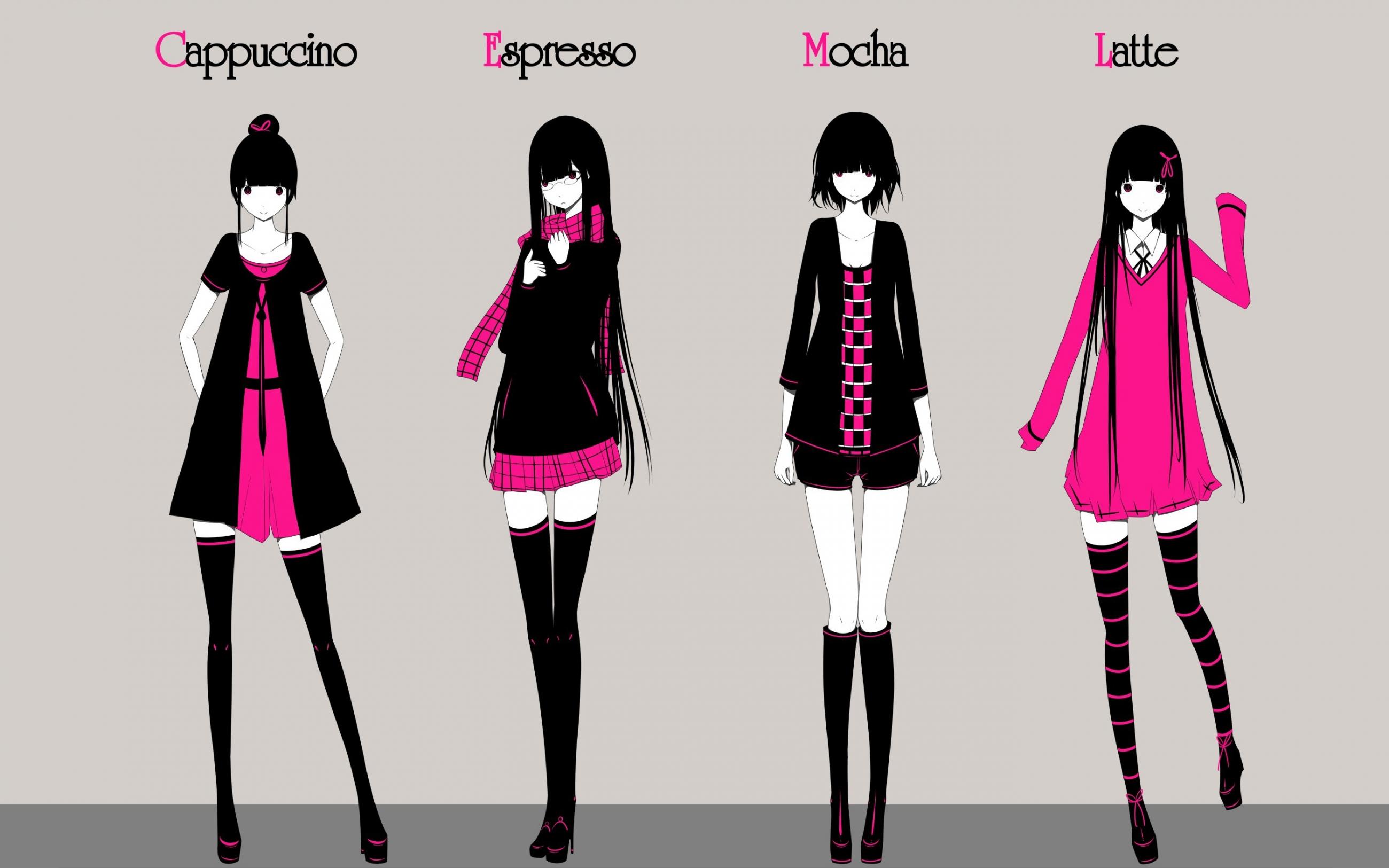 Anime girl style | PixelsTalk.Net