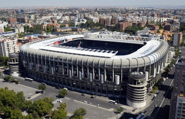FBL-ESP-REAL MADRID-BERNABEU-STADIUM