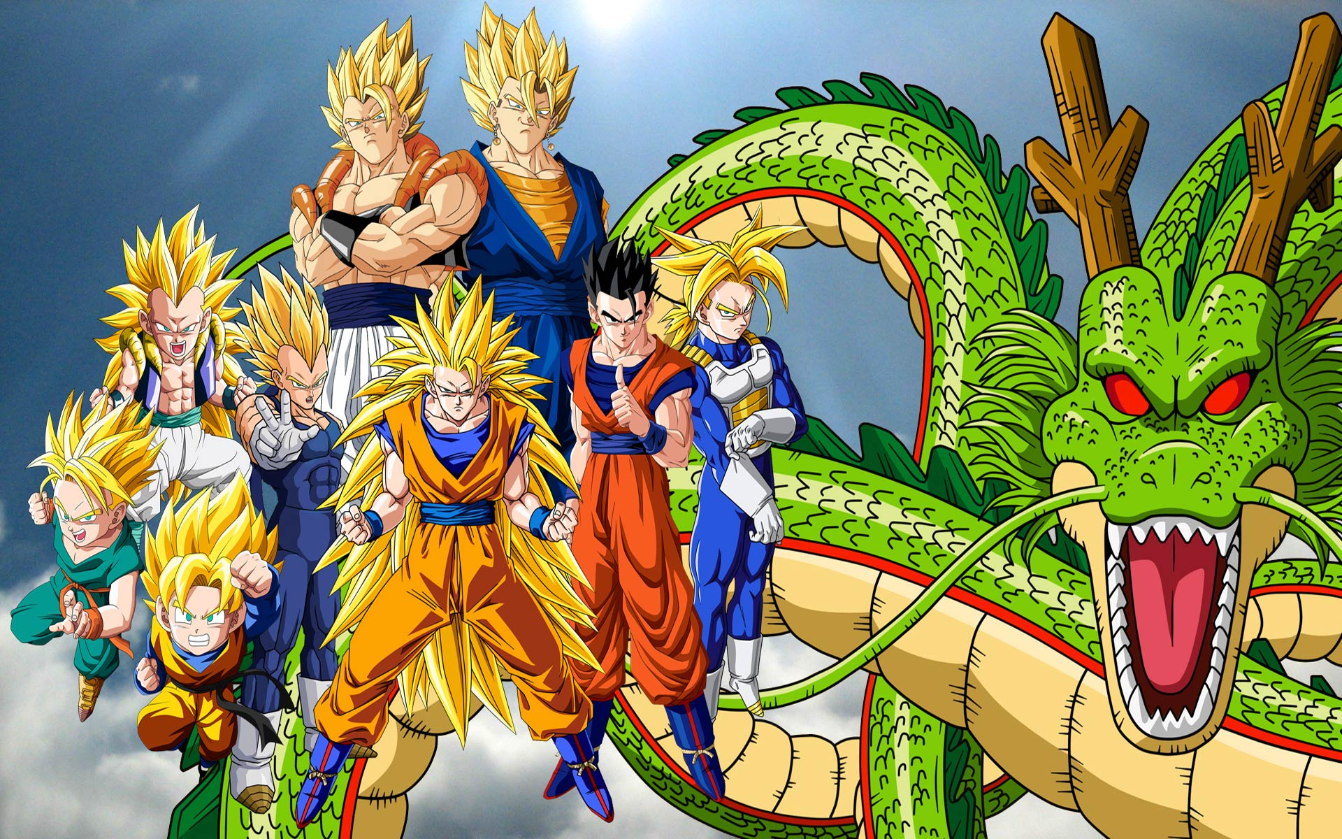 dragon ball z wallpapers goku pixelstalk net