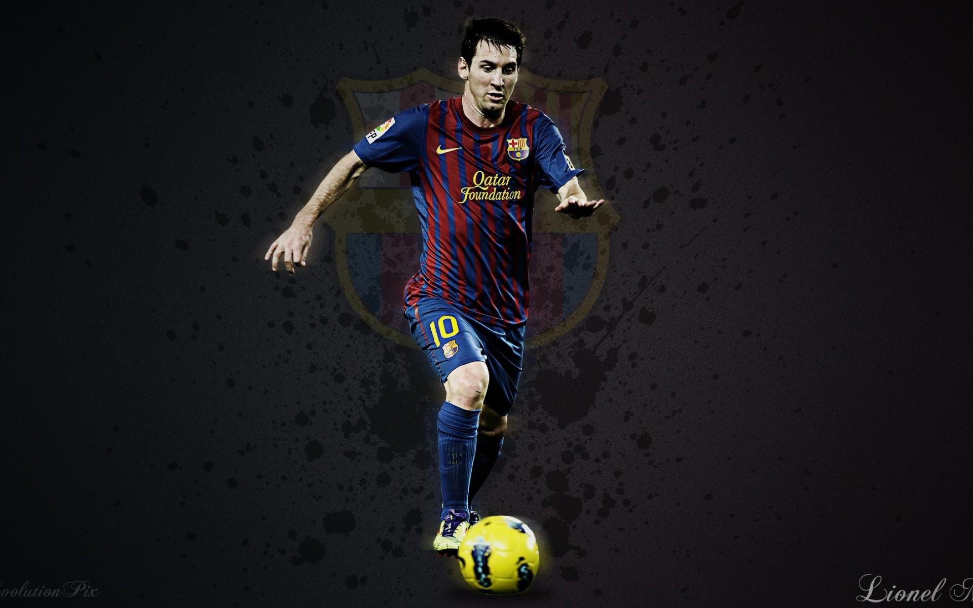 FC Barcelona Lionel Messi 2014 2015 Wallpaper HD Desktop.