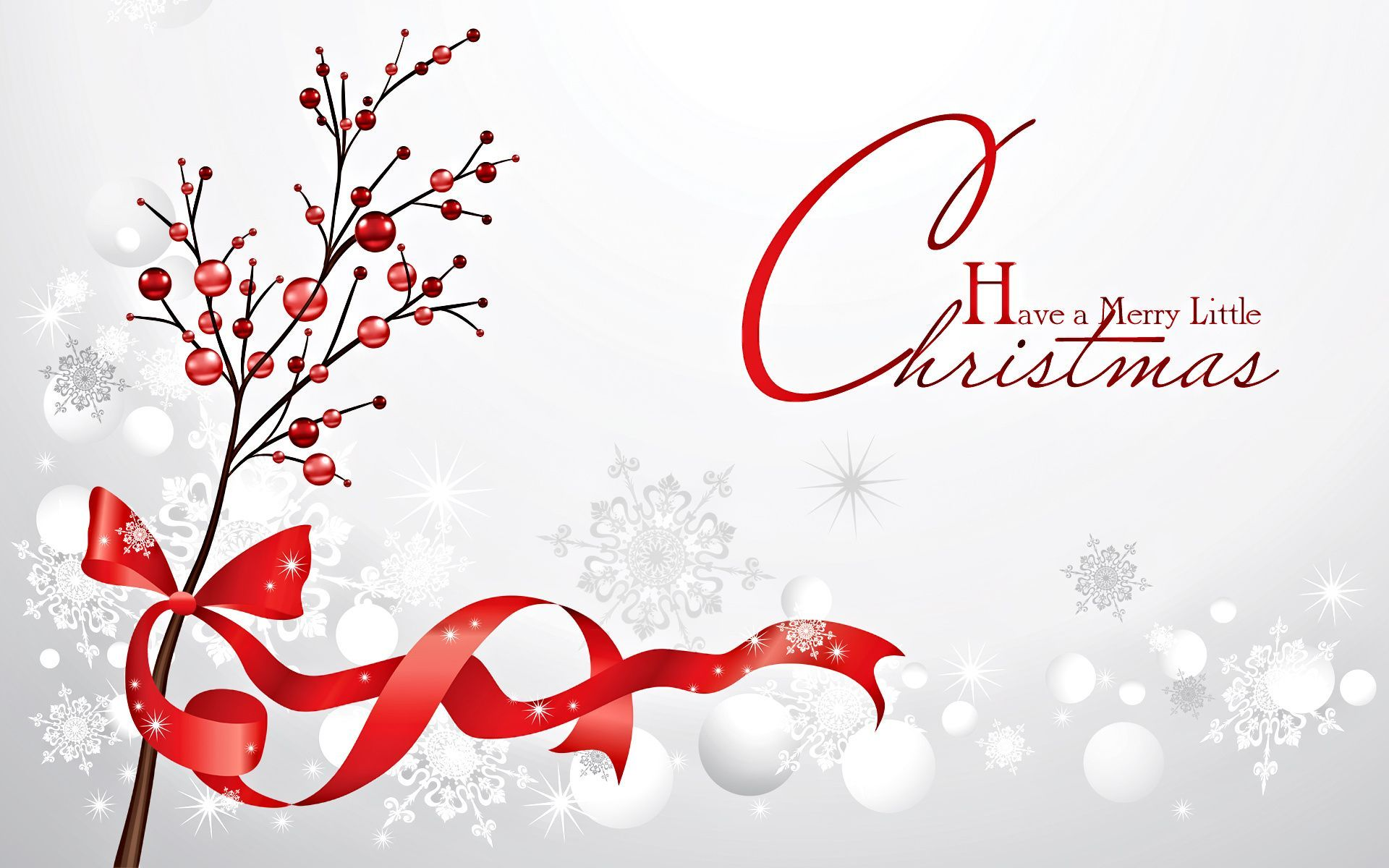 HD Merry Christmas Wallpaper Red 2016.