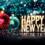 Happy New Year Wallpaper Desktop Background.