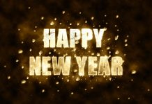 Happy New Year Gold Wallpaper HD