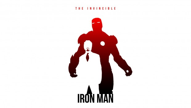 Comics Iron man 3 background desktop.