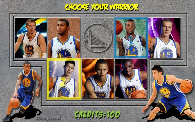 Golden State Warriors Players Wallpaper.