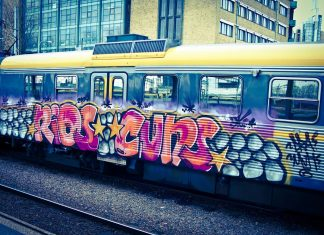 Graffiti HD Wallpaper The Train Street Art