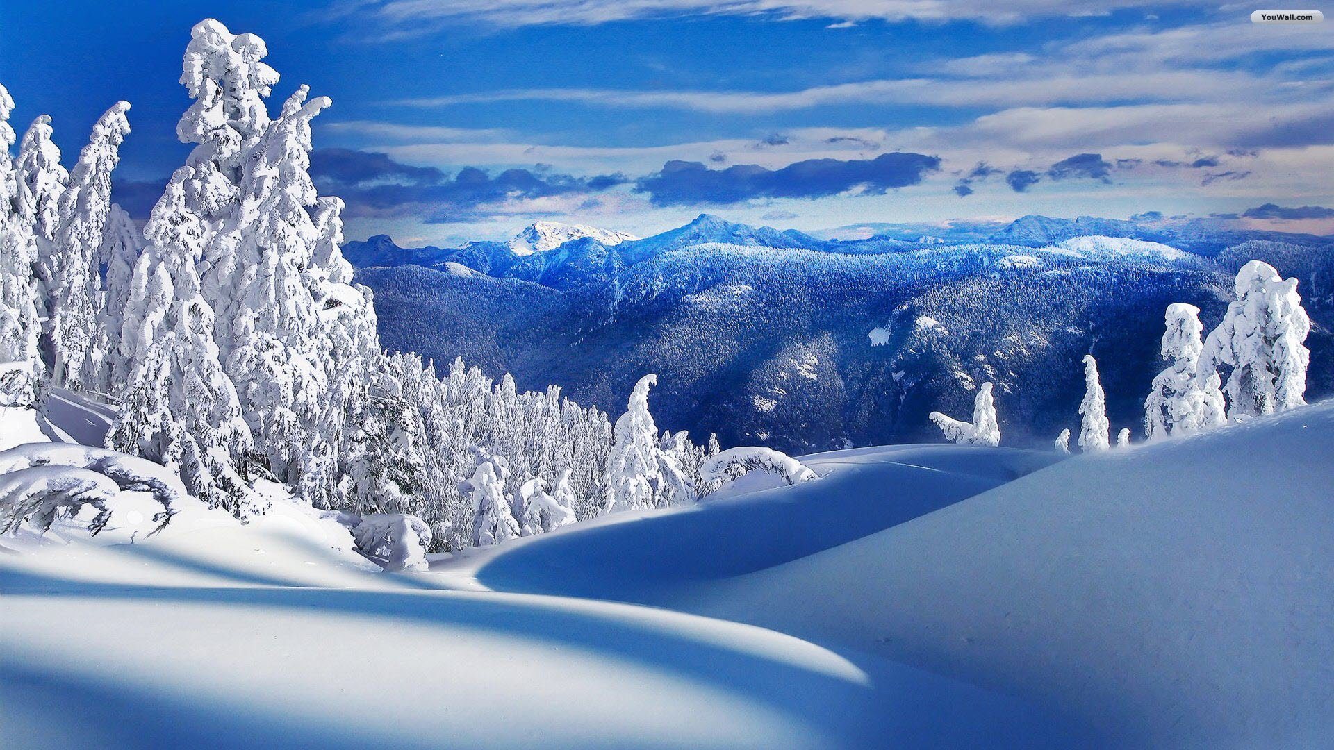 Winter landscape wallpaper full hd pixelstalk net - Free landscape backgrounds ...