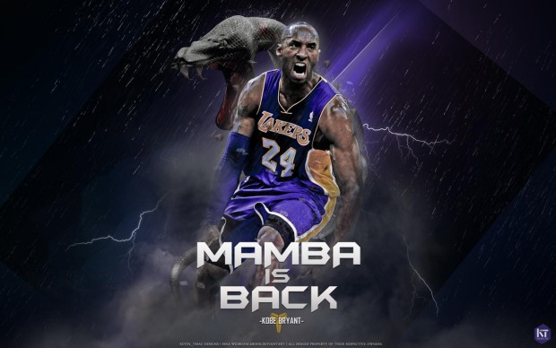 Mamba is back Kobe Bryant HD Wallpapers.