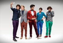 One Direction Stylish Wallpaper HD.