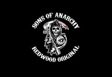 Sons of Anarchy Small Logo Wallpapers.