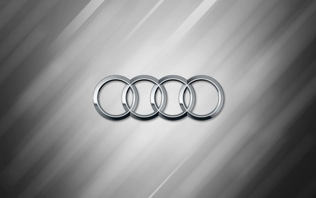 Audi Logo Wallpaper HD desktop.