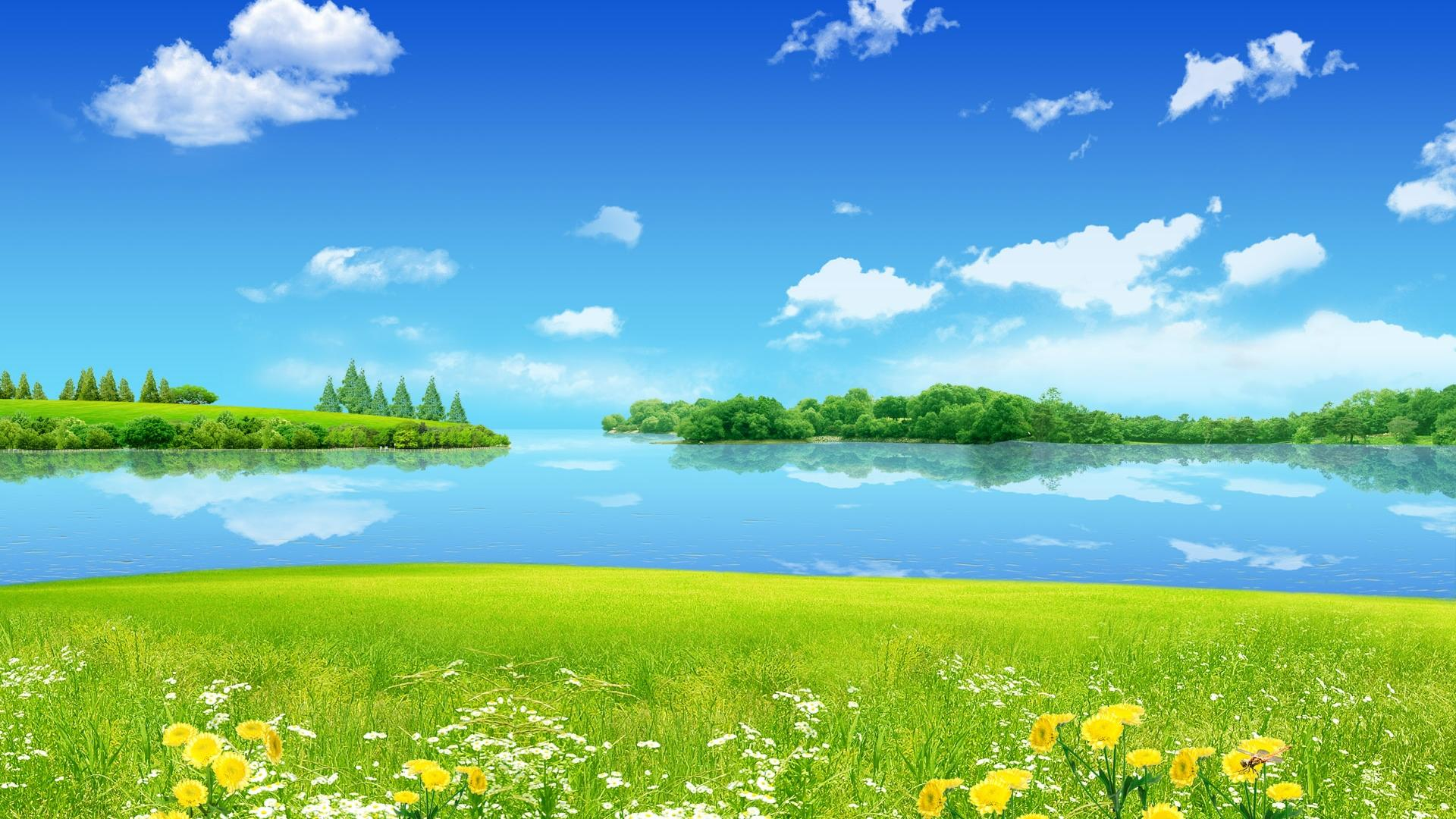 Summer Desktop Wallpaper Background Hd Pixelstalk Net