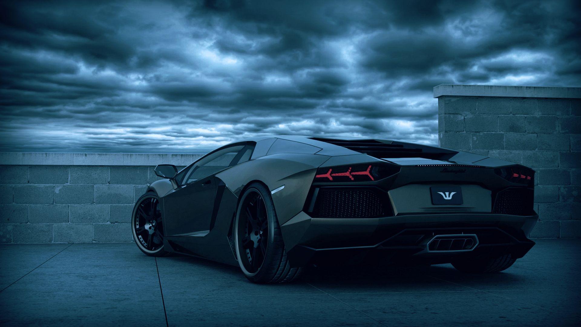 Lamborghini Desktop Car Game