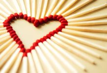 Matches heart wallpaper HD.