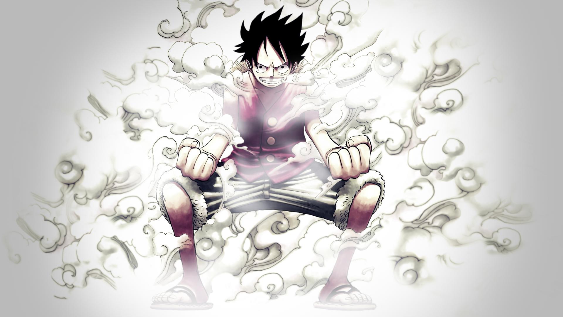 Luffy One Piece Wallpa... One Piece Wallpaper Luffy Gear Fourth