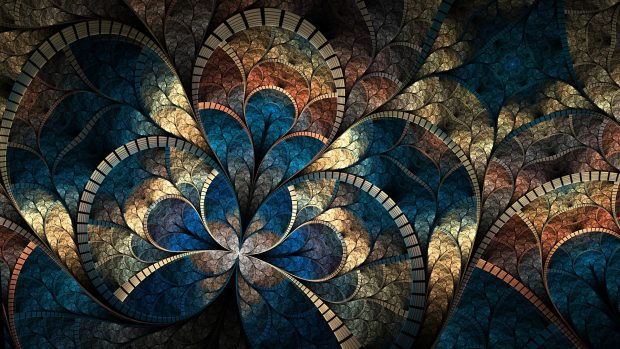 Abstract fractal cg digital art artistic pattern psychedelic wallpapers 1920x1080.