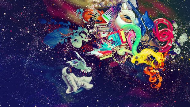 Abstract trippy psychedelic wallpapers HD.