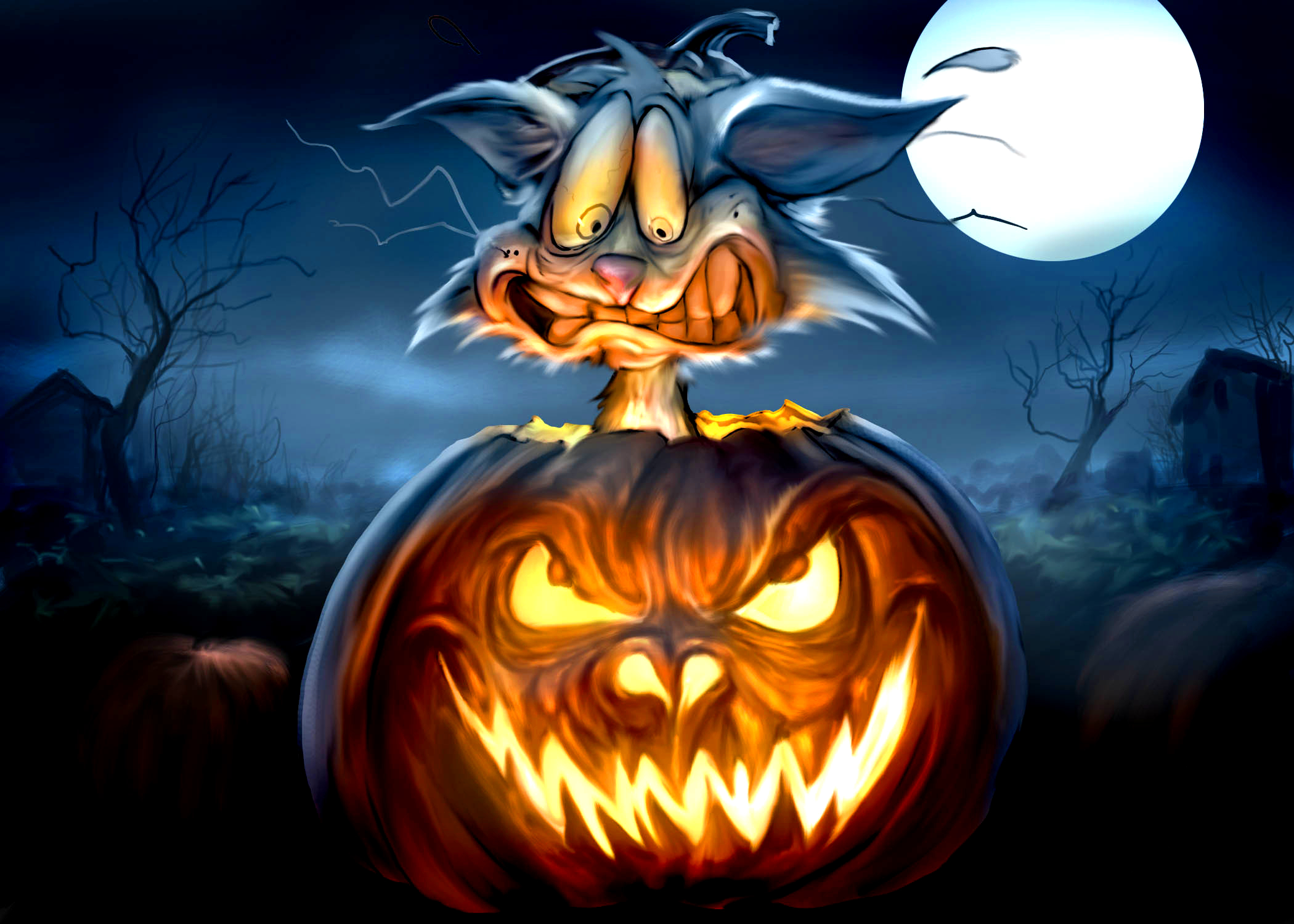 Best Happy Halloween Wallpapers.