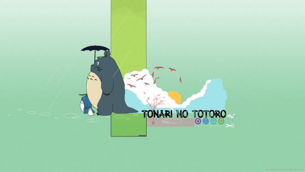 Download desktop totoro backgrounds.