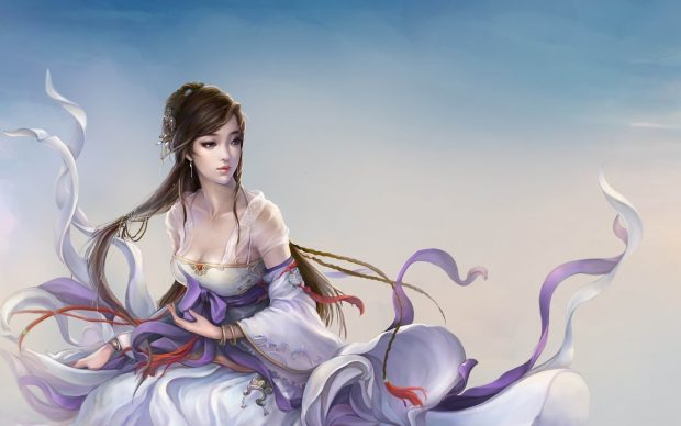 Fantasy girl fairy wallpapers wallpaper array wallwuzz hd.
