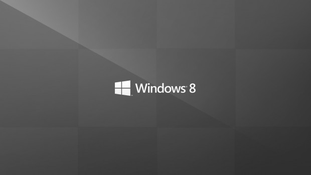 Grey Windows 8 Wallpaper HD.