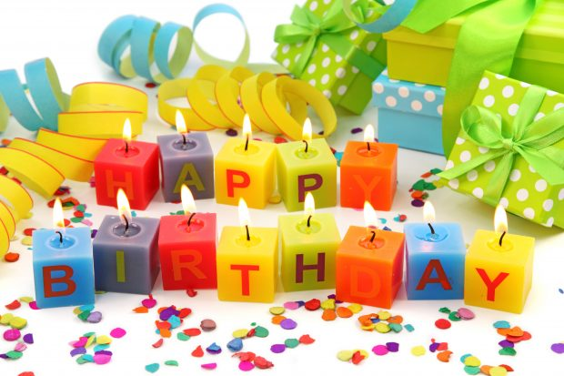 Happy birthday wallpaper images HD.