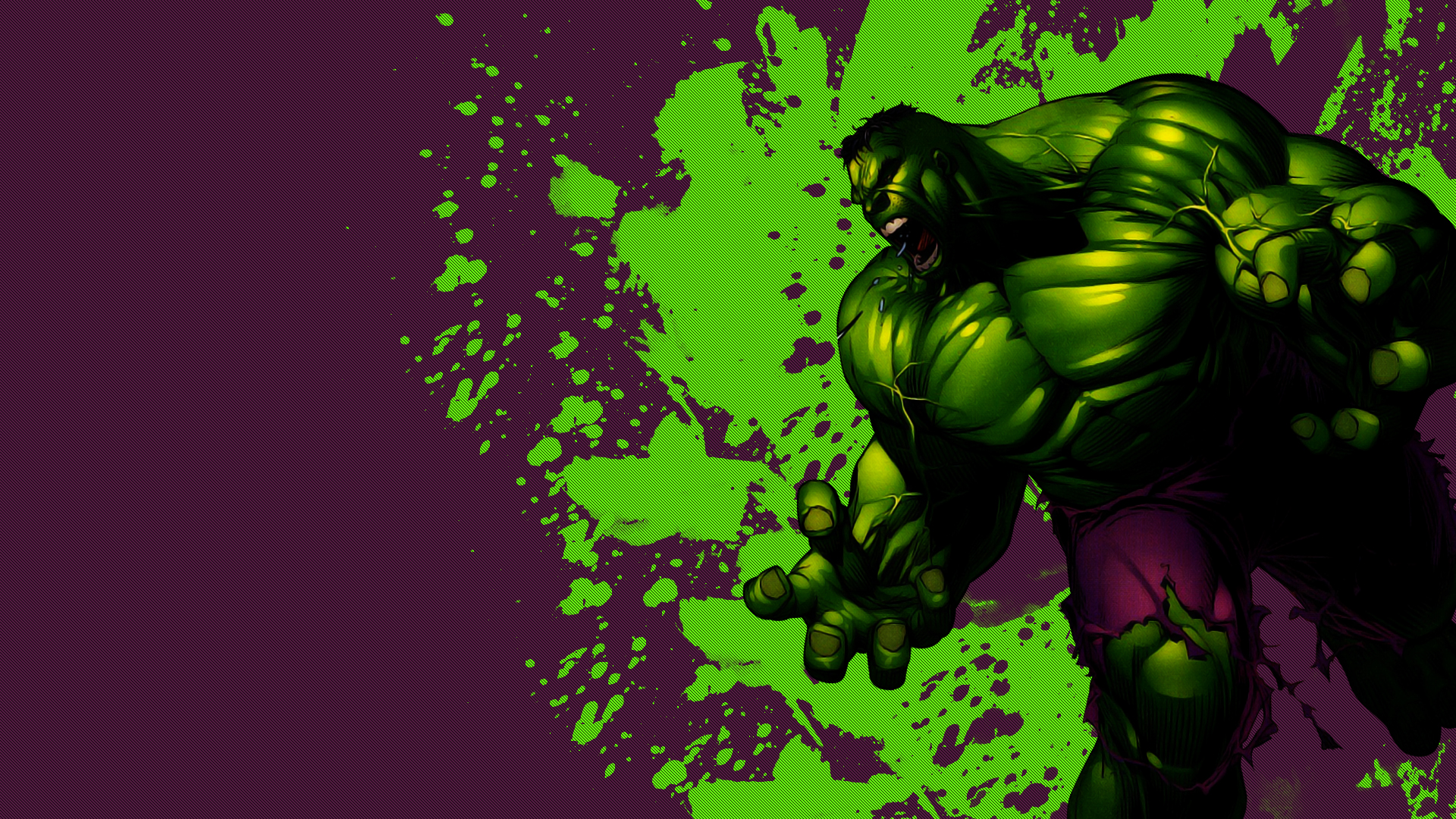 Incredible hulk wallpaper for desktop HD.