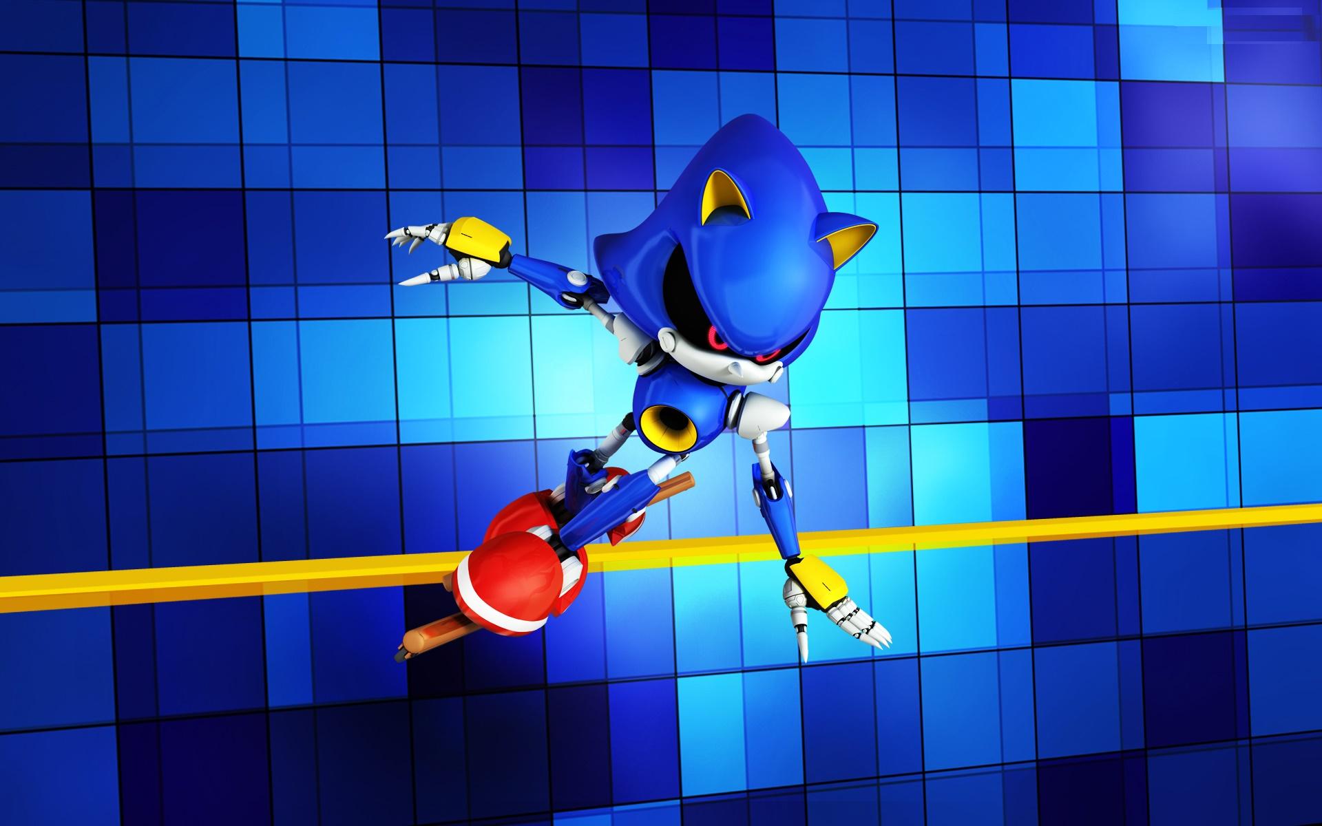 Metal sonic HD wallpaper pictures.