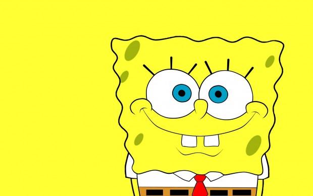 Movie cute spongebob wallpaper HD.