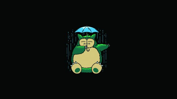 My Neighbor Totoro Totoro Anime Umbrella rain backgrounds.