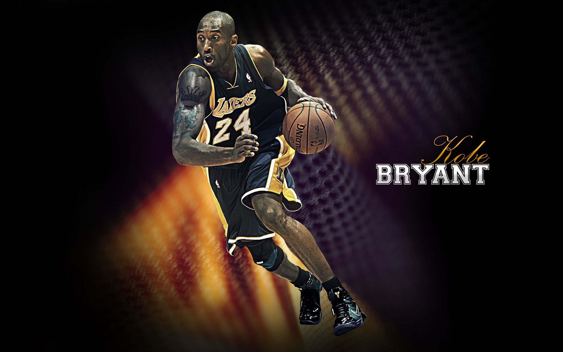 Kobe Bryant LA Lakers NBA wallpapers.