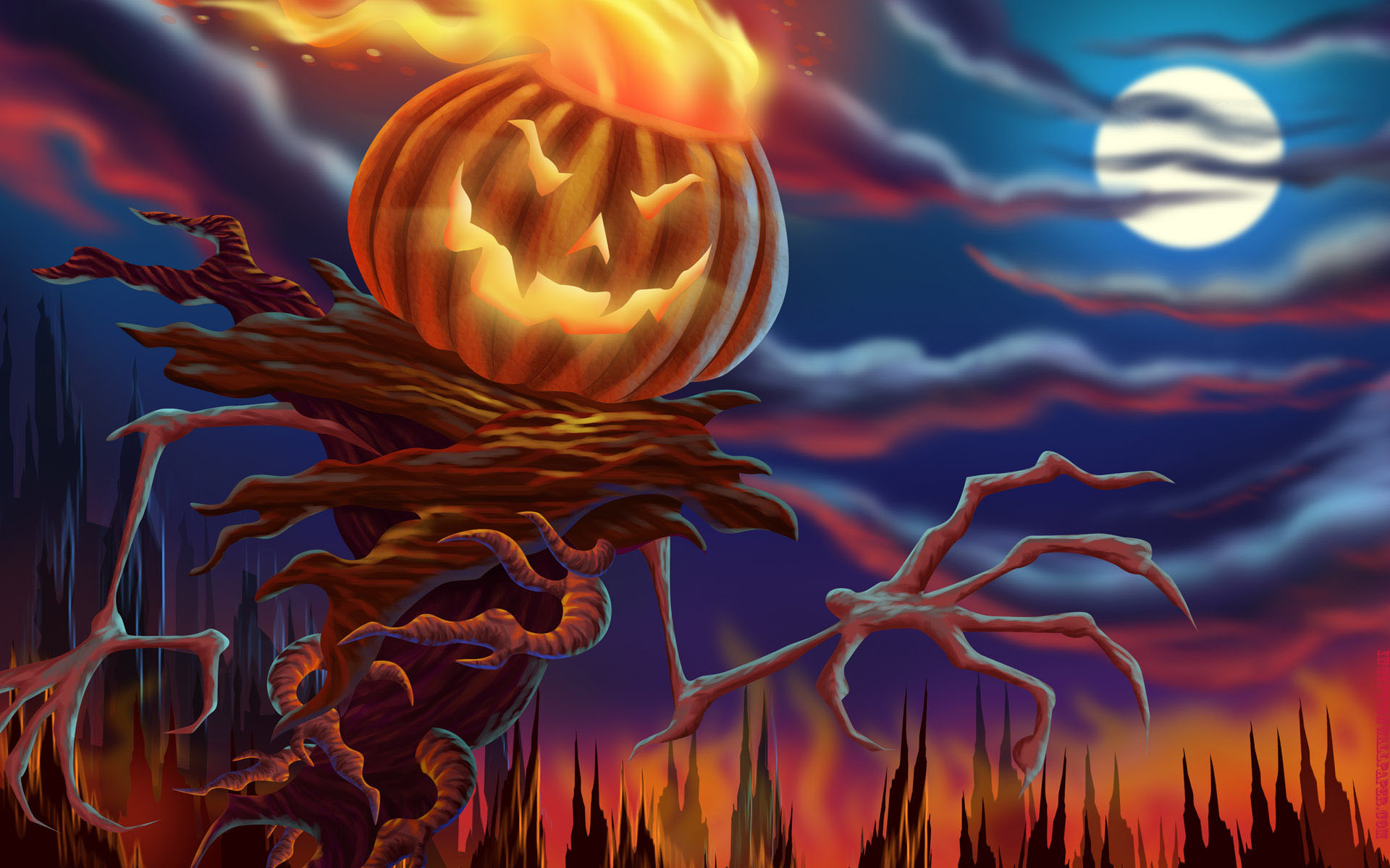Pictures images halloween wallpapers HD.