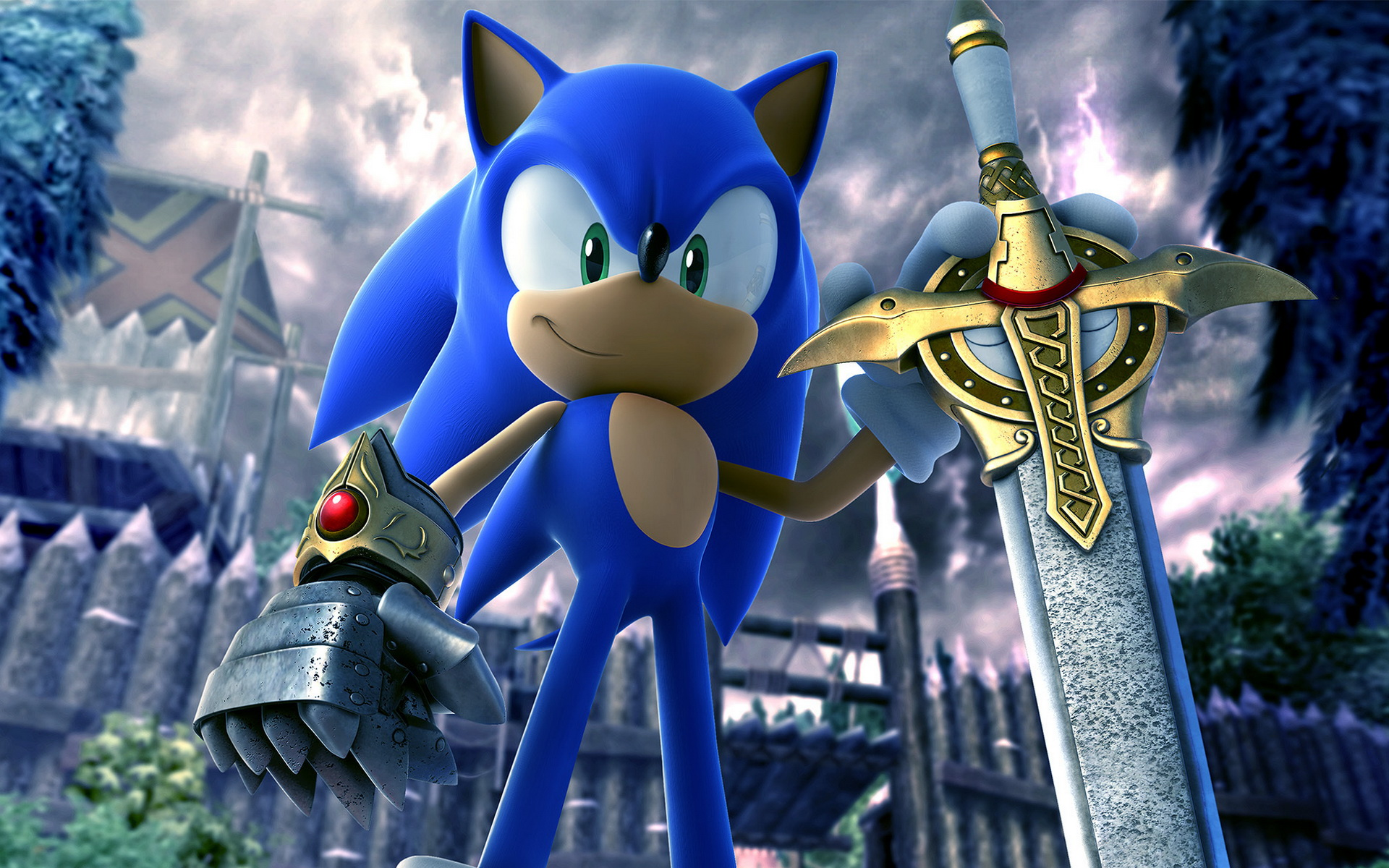 Sonic wallpapers HD the black knight wide.