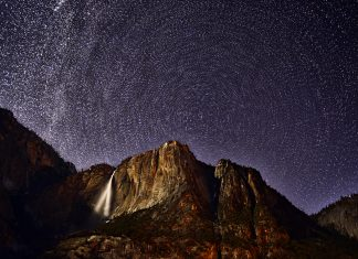 Yosemite Night Wallpaper Desktop.