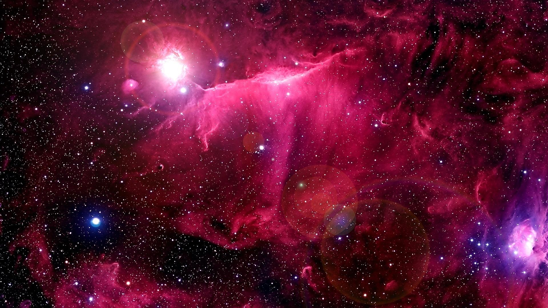 pink nebula galaxy space wallpaper - photo #25