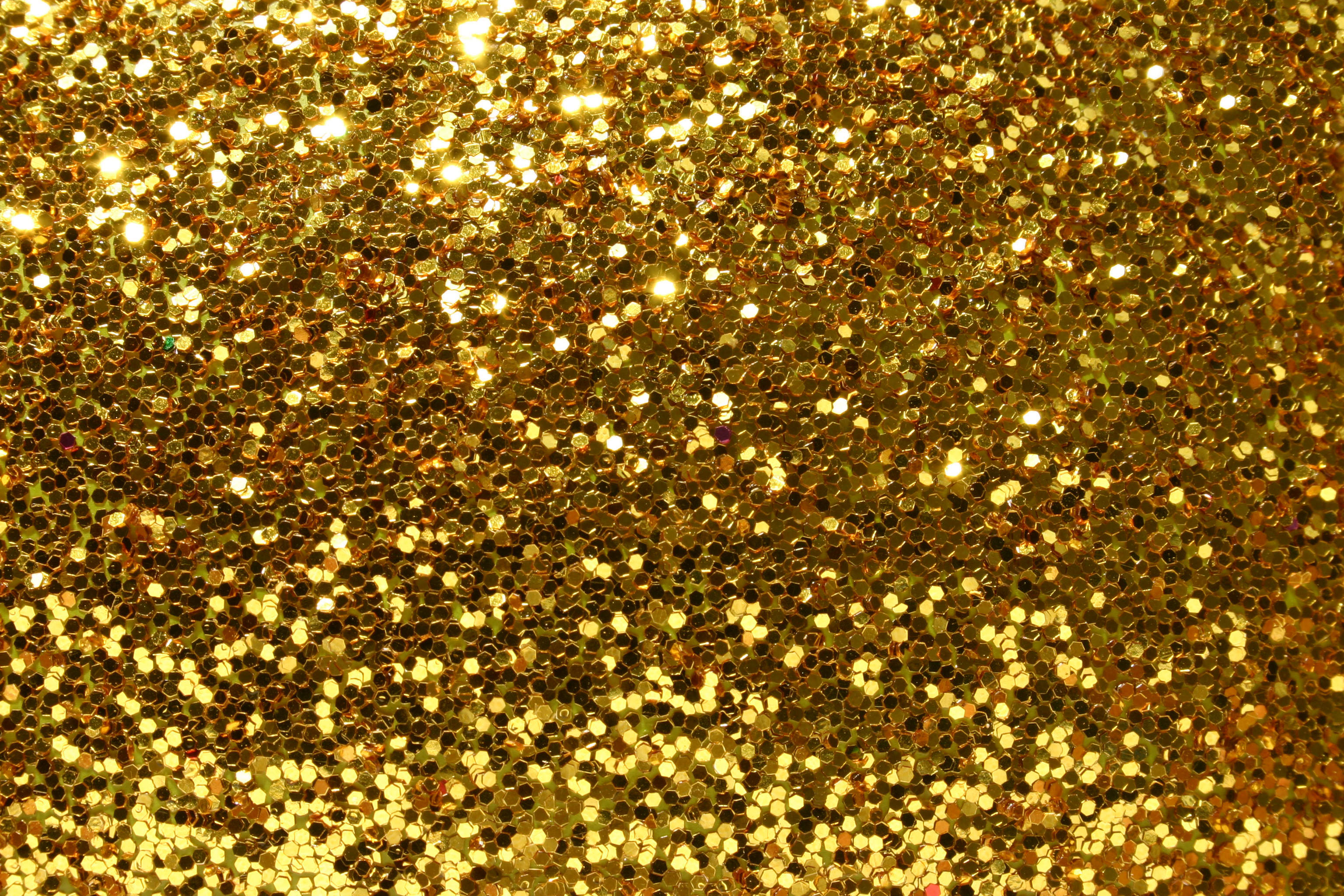 Beautiful Golden Glitter Background.