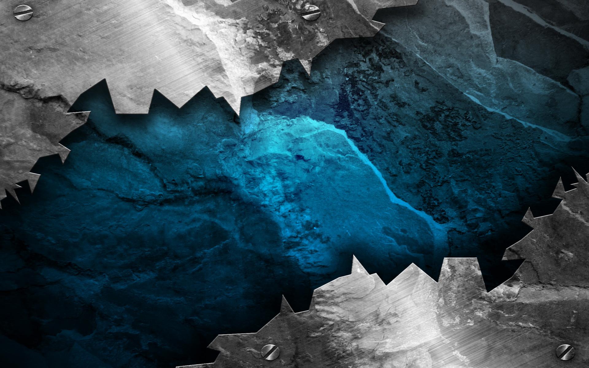 Blue Grunge Wallpaper HD   PixelsTalk.Net