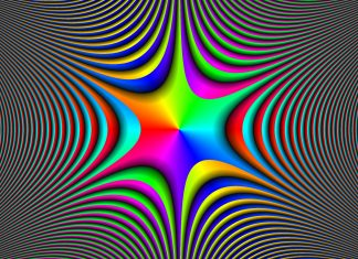 Colorful Illusion Wallpaper.