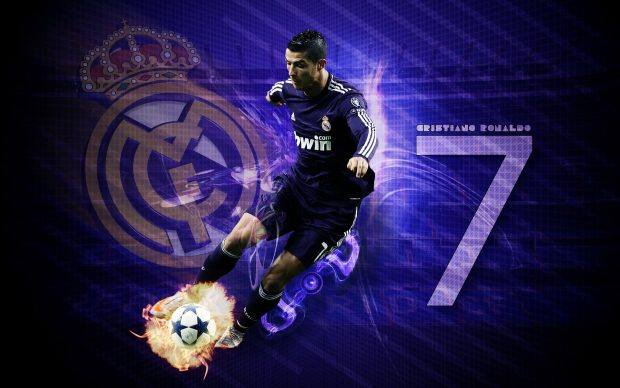 Cristiano Ronaldo HD Wallpaper.