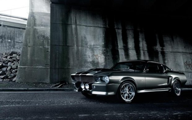 Desktop ford mustang 1967 black backgrounds.