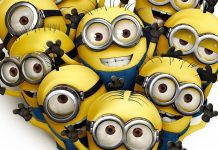 Despicable me 2 minions desktop wallpaper hd 1920x1080 close up.