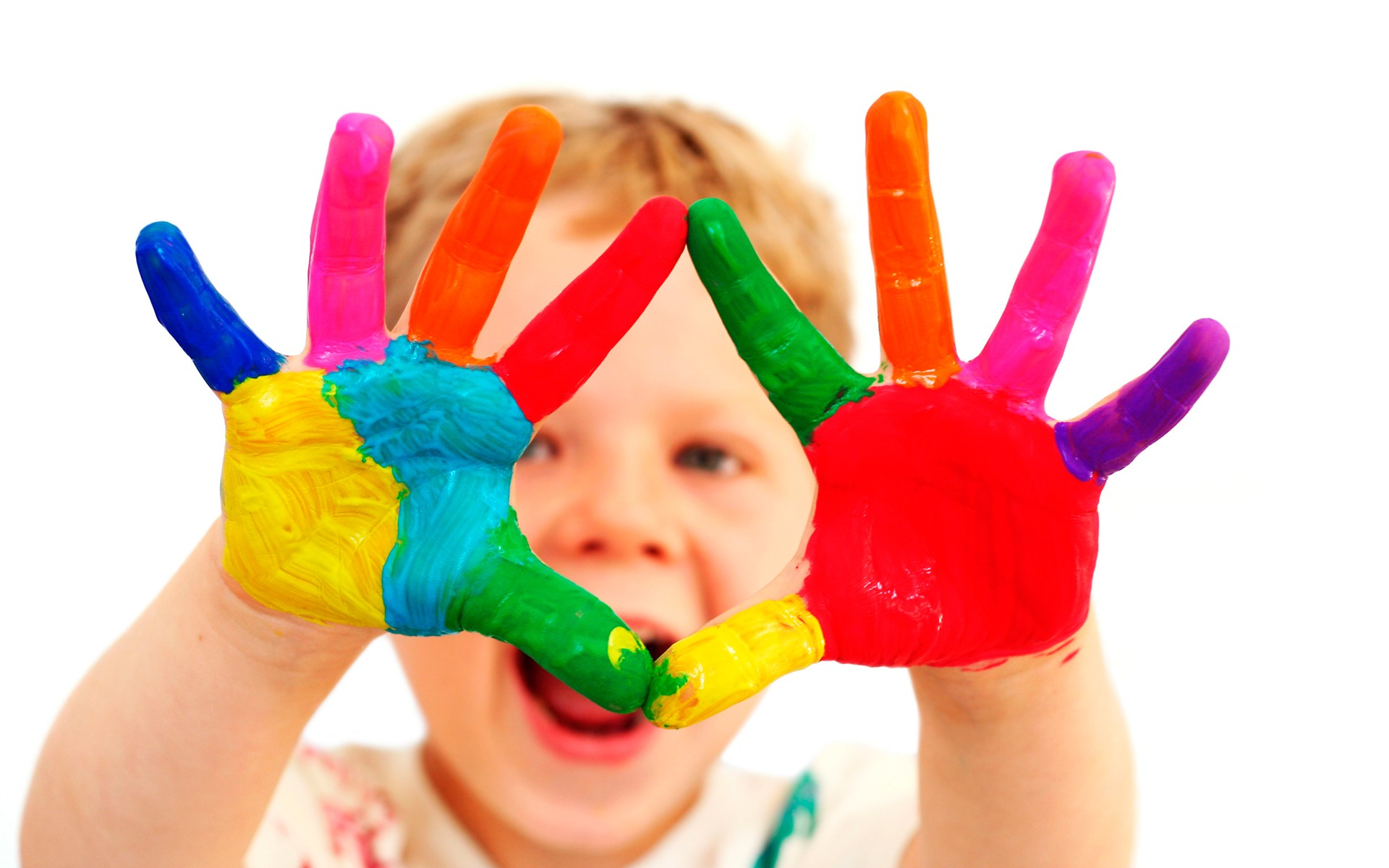 finger kids painting hd desktop wallpaper - Painting Images For Kids