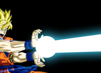 Goku Backgrounds Free Download.