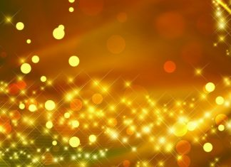 Gold Sparkly Wallpaper Desktop.