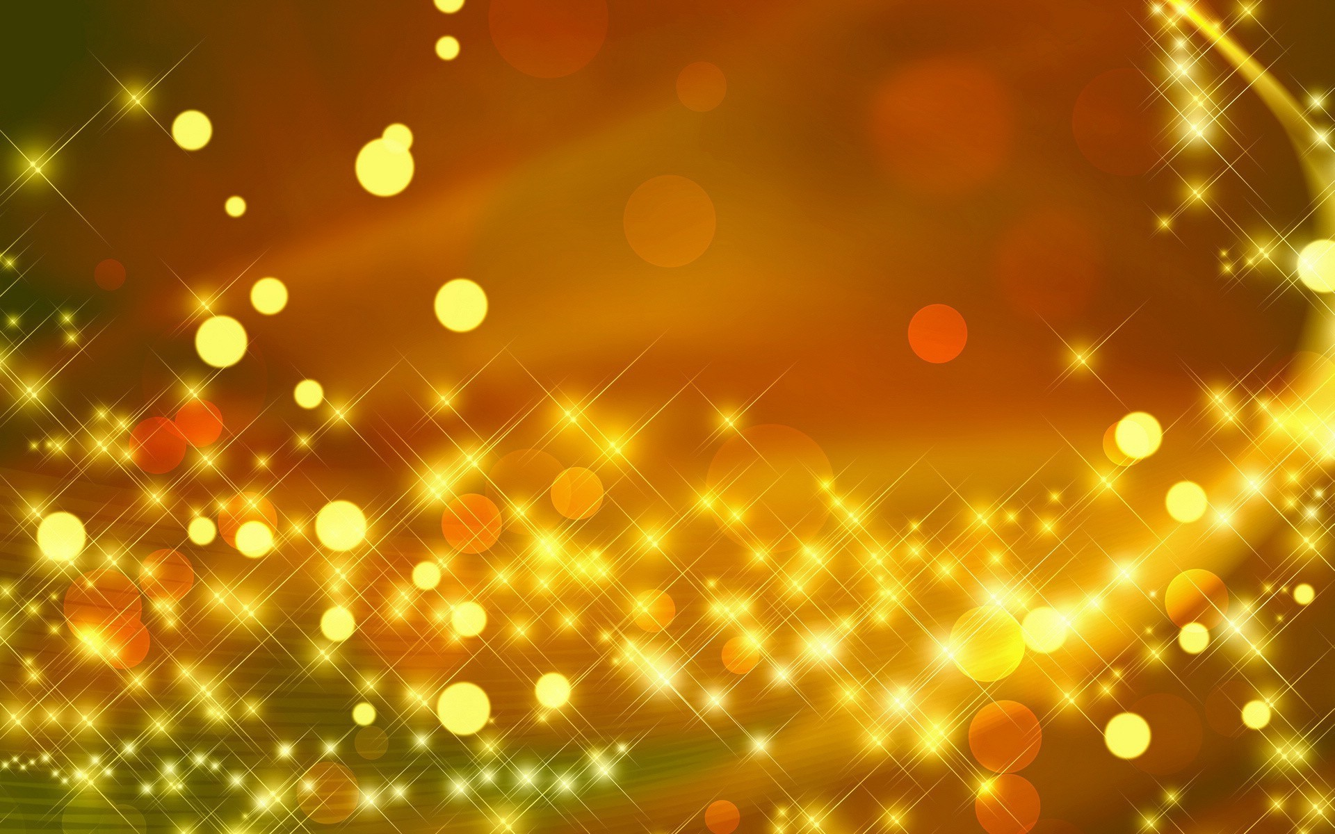 Gold Sparkly Wallpaper Desktop